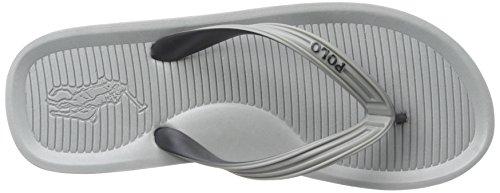Polo Ralph Lauren Mens Whittlebury Flip Flop Grey Multi Aek0t