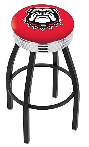 30' Chrome Bar Stool (Logo Series Bar Stool NCAA Team: University of Georgia