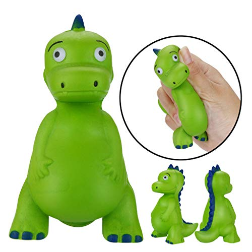 Mikilon Jumbo Squishies, Slow Rising squishies, Dinosaur T-Rex Squishy, Animal Squishies Cute Squeeze Toy for Girls and Boys,Decorative Props Large or Stress Relief]()