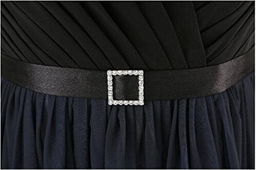 Gowns Angela Pleats Party Women's White Bridesmaid B Long Evening Dresses Wedding Black SS8Hwxqr