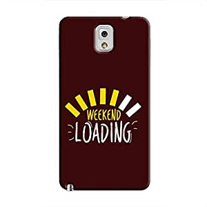 Cover It Up Weekend Loading Hard Case For Samsung Galaxy Note 3