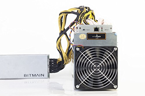 AntMiner L3+ ~504MH/s @ 1.6W/MH ASIC Litecoin Miner With Power Supply Included Ready To Ship Now by AntMiner