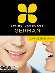 Complete German is a unique multimedia program that takes you beginner to advanced level in one convenient package.   At the core of Complete German is the Living Language Method™, based on linguistic science, proven techniques, and over 65 ...