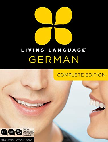 Living Language German, Complete Edition: Beginner through advanced course, including 3 coursebooks, 9 audio CDs, and free online learning (Best Language To Learn In College)