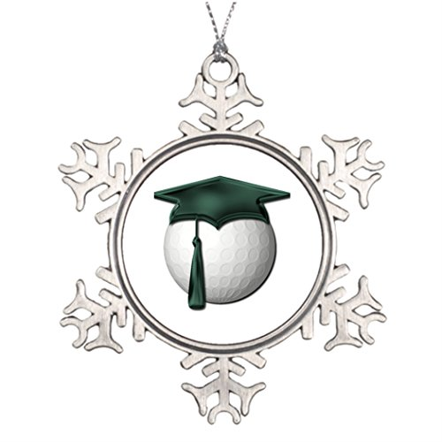 SMALL Poppy Ideas For Decorating Christmas Trees Golf Lessons Metal Snowflake Ornaments ()