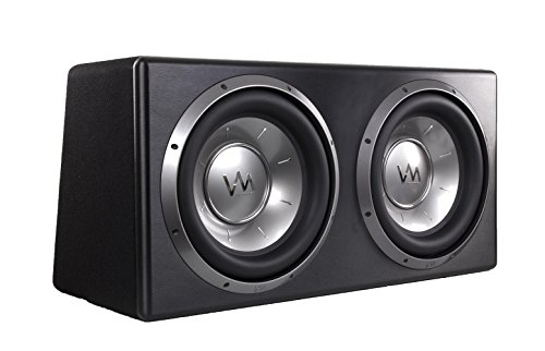 VM Audio Dual 10'' Elux Sealed 4200 Watt Car Stereo Subwoofer Box with Amp by VM Audio (Image #1)