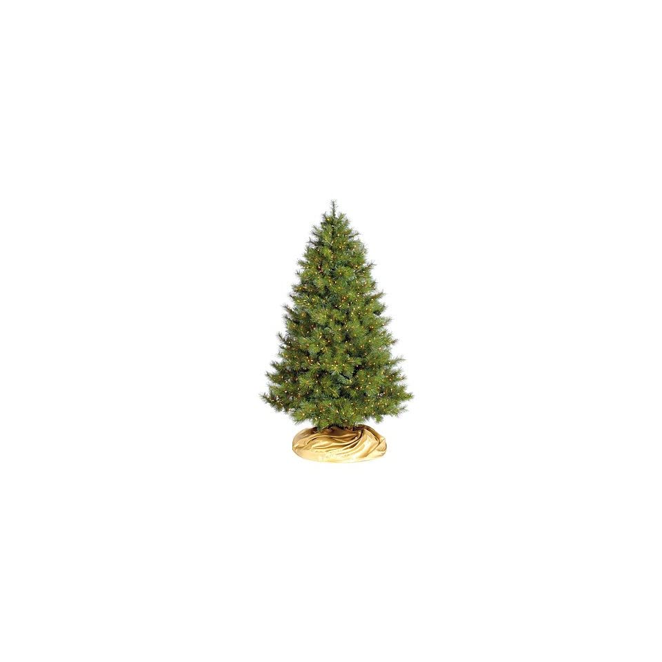 Pre lit Virginia Pine Artificial Christmas Tree. with FlipTree Stand & Storage Bag   Frontgate   Artificial Flora