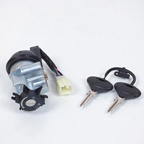 Kit neiman contacteur de démarrage à clé Teknix Scooter Peugeot 50 Trekker Neuf CGN