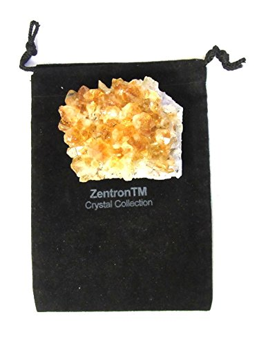 Zentron Crystal Collection: Citrine Cluster Geode Piece