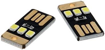 KESOTO ポータブル 片面プラグイン USB LED ランプナイトライト 供給 超低電力出力 電源ランプ