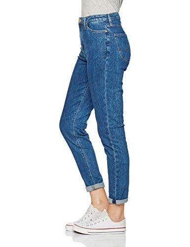 acid Stone Lee Jeans Tapered Blu Mom Donna w1wUHPxqX