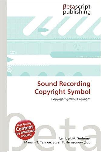 Sound Recording Copyright Symbol Amazon