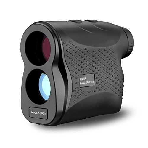 DEKO Laser Rangefinder,6X Magnification 656 Yards Waterproof Laser Range finder for Hunting and Golf with Accurate Range Scan, Slope, Pinseeker, Fog, Speed and Distance Measure