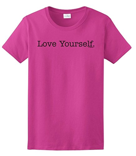Yourself Inspirational Motivational Ladies T Shirt