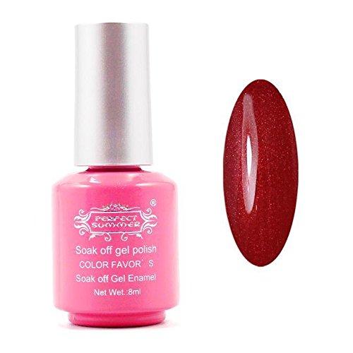 Perfectsummer 1pcs 8ml UV Gel Polish Soak Off Nail polish #200