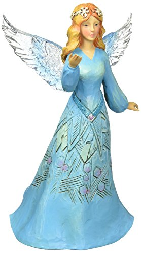 Jim Shore Heartwood Creek JS HWC Fig Wondr Winter Angel Figurine