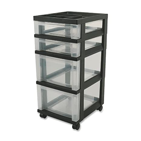 IRS116827 - Iris Mini Storage Cart  sc 1 st  Amazon.com & Amazon.com : IRS116827 - Iris Mini Storage Cart : Computer And ...