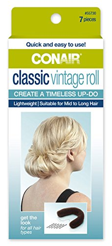Conair 55730 Classic Vintage Hair Roll 7 Piece Kit