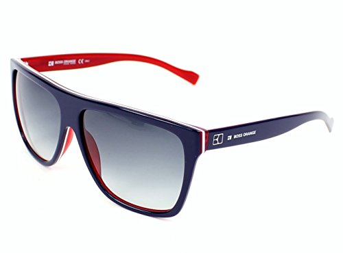 Boss Orange sunglasses BO 0082/S YW0JJ Acetate Blue - Red Grey Gradient