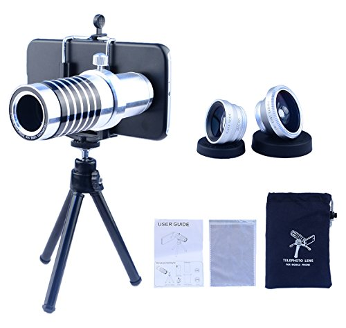 Apexel Samsung Galaxy S6 Camera Phone Lens Kit Including 14x Manual Focus...