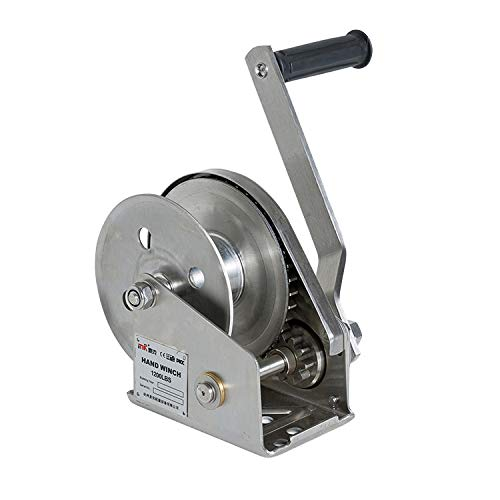 Hand Winch Stainless Steel, Brake Winch Boat 4wd Trailer