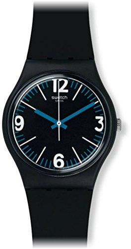 Swatch Unisex-Armbanduhr Four Numbers Analog Quarz GB292