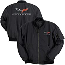 Corvette Aviator Jacket with C6 Logo : 2005-2013 C6 (XXL)
