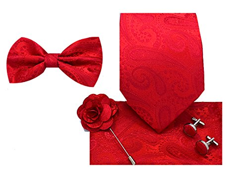 (Oliver George 5pc Box Set (Paisley-Red-J))