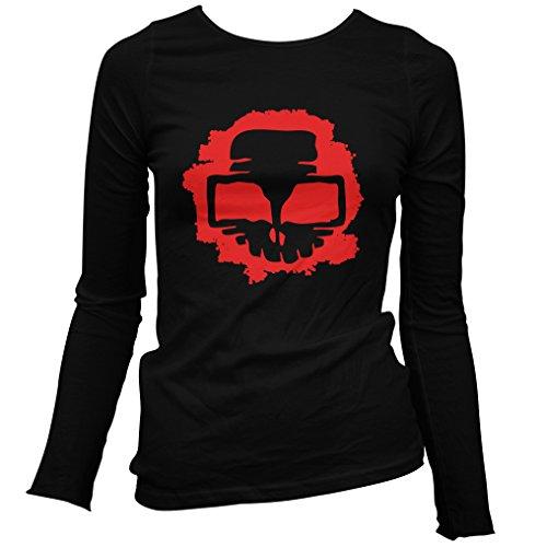 Freshism Women's Insider Long Sleeve T-shirt - Black, (Chicago Halloween Homicides)