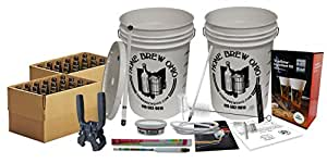 New Brewers Complete Homebrew Beer Making Kit by Monster Brew