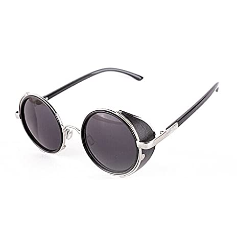 Vintage Sidestreet Steampunk Round Blinder Retro Eyewear New Classic Sunglasses