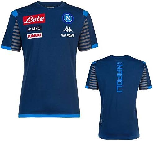 MAESTRI DEL CALCIO T-Shirt Blu Bambino SSC Napoli 19/20 ...