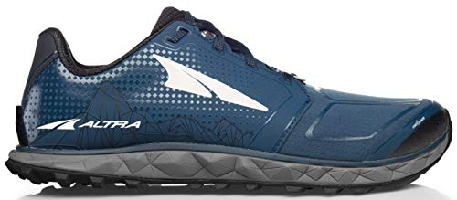 Altra AFM1953G Men's Superior 4 Trail Running Shoe, Blue/Gray - 9.5 D(M) US