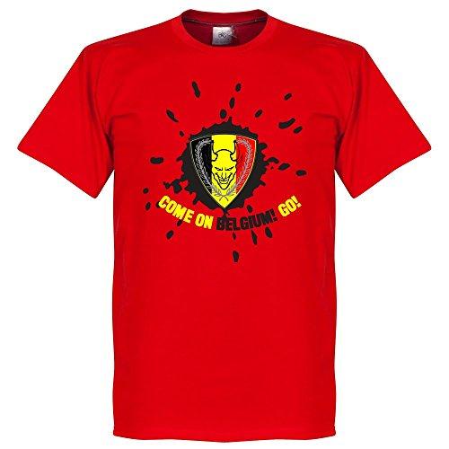 Belgio Devil t-shirt–rosso