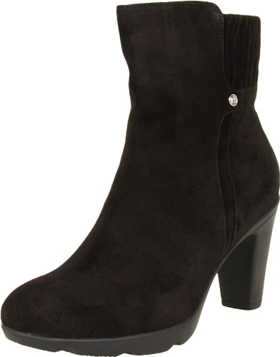 Black Suede Women's Blondo Casual Loann Ankle UzTnWT7HOq