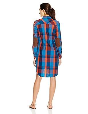 KAVU Women's Jurnee Long Sleeve Button Up Shirt Dress