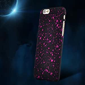 MOM Starry Sky Pattern Frosted Back Case for iPhone 6 (Assorted Color) , Red