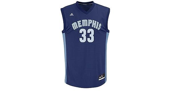 Adidas - Camiseta de Manga Corta para Hombre, diseño de NBA, Hombre, Replica Player Road Jersey, Azul Marino, 2 X-Grande: Amazon.es: Deportes y aire libre