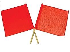 National Marker STF1 SAF-T-Flag - Red/Or...