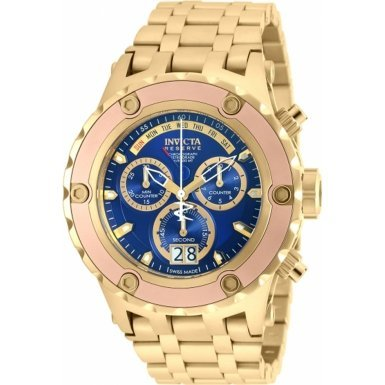 Invicta 90120 Mens Subaqua Gold Plated Chronograph Watch by Invicta