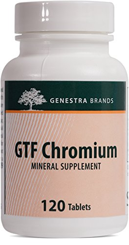 Genestra Brands – GTF Chromium – Support for Healthy Glucose Metabolism* – 120 Tablets
