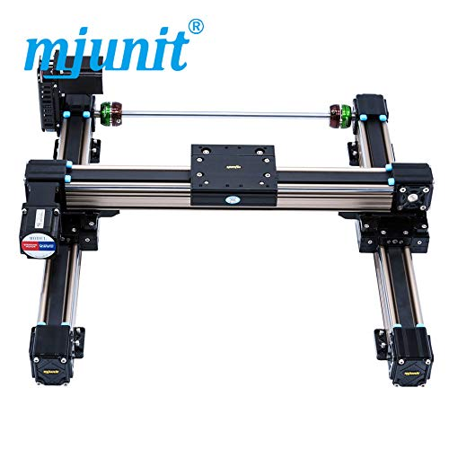 mjunit MJ50 xy axis with 1000x2000mm Stroke Length Linear Motion Guide Way Linear Units Linear Motorized Actuator ()