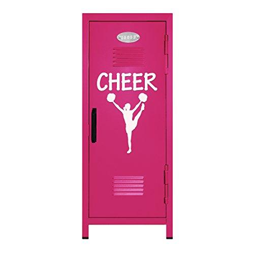 Hot Pink/White Cheer Mini Locker Gift - 10.75