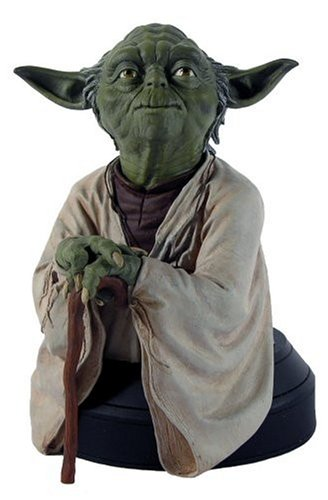 Giant Star Wars Gentle Busts - Star Wars Yoda Mini Bust