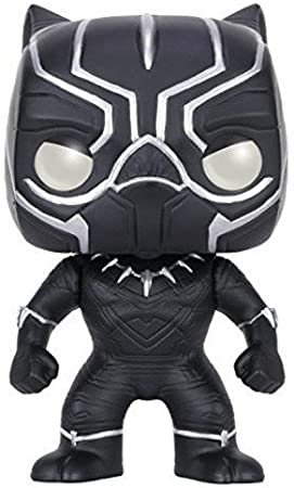 Funko Pop! - Bobble: Marvel: Captain America CW: Black Panther (7229)