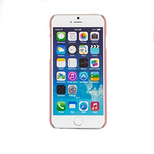"""iProtect housse de protection dur Hard Case mat pour Apple iPhone 6 (4,7"""") en rose"""