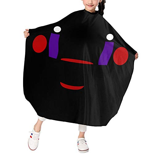 Rmoye Marionette Five-Nights-at-Freddy Barber Supplies Tool Hair Cutting Apron Hairdressing Gown Cape for Kids