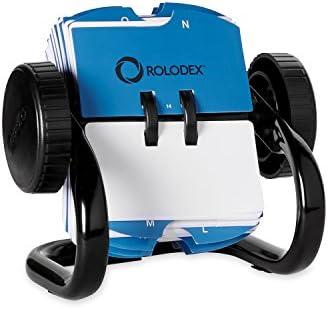 Rolodex Business Card Tray schwarz klein