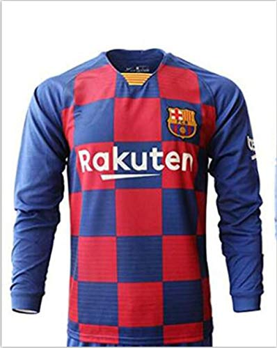 Camiseta de fútbol Personalizado 19/20 Manga Larga Hombres Jóvenes Jerseys de fútbol Diseño Número de Nombre