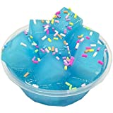 Fruit Coconut Mud Mixing Cloud Slime squishy Putty Scented Stress Kids Clay Toy blue